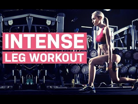 Intense Leg Workout (FAT BURNING & MUSCLE BUILDING!!)