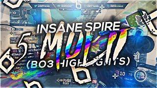 INSANE SPIRE 5 MULTI! (Live BO3 Highlights) - @ObeyVader_