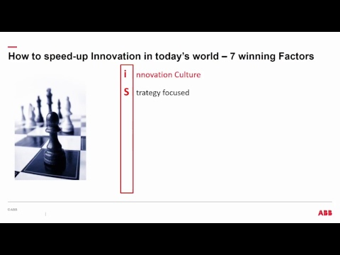 Innovation and technology to shape the future power and automation - Mikael Dahlgren, ABB