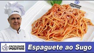 O melhor Espaguete ao Sugo - Chef Taico