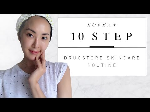 Korean 10 Step Drugstore Skincare Routine