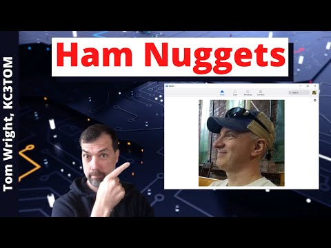 #94 Ham Nuggets Live! With Tom Wright, KC3TOM