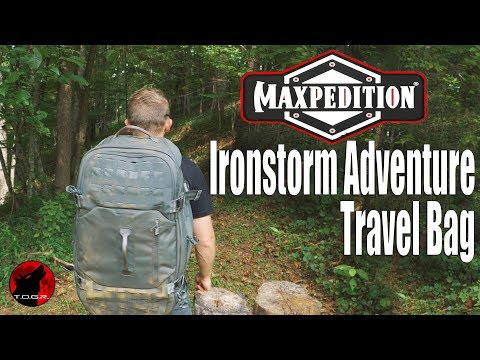 Maxpedition Ironstorm Adventure Travel Bag 62L - Review