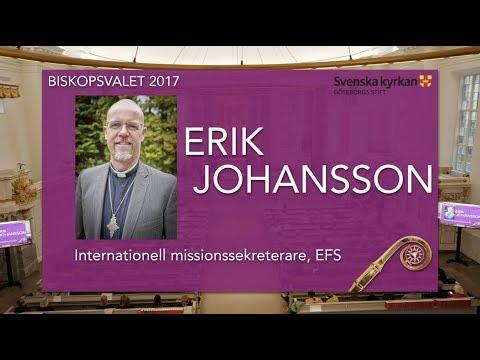 Erik Johansson - Biskopsvalet 2017 Göteborgs Stift