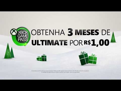Obtenha os 3 primeiros meses de Xbox Game Pass Ultimate por R$ 1,00 (Para toda a família)