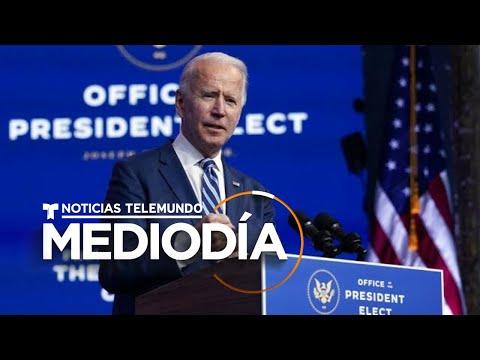 El presidente electo de Estados Unidos, Joe Biden, promete proteger Obamacare