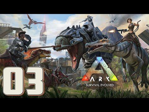 ¡Tengo que aprender a cazar XD!│ARK SURVIVAL EVOLVED│Gameplay En Español│EP.03