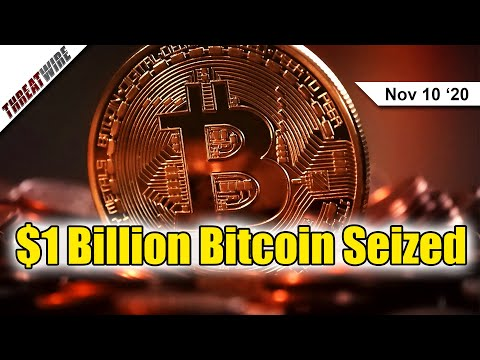 Feds Seize $1 Billion from Famous Bitcoin Wallet  - ThreatWire
