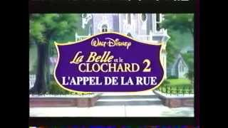 La Belle et le Clochard 2 - VHS Trailer