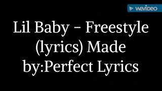 Lil Baby - Freestyle (Lyrics)