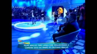 Felipe Araújo Bora beber.  Clipe de Lançamento no Programa a Hora do Faro 27/09/2015.