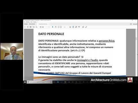 FormazioneOnWeb.it - Privacy e Nuovo GDPR - 28.06.18