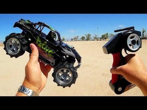 WLToys A979-2 Powerful 1:18 4WD High Speed RC Buggy Crawler Test Drive Review