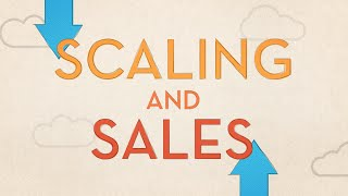 Startups: Scaling Sales