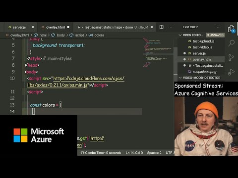 Using Azure Computer Vision to detect emotions in a video   Azure Developer Streams