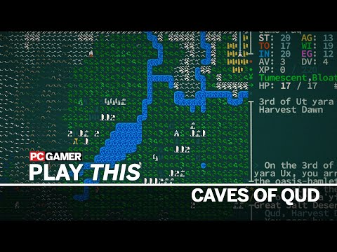 Play This: Caves of Qud, a roguelike that creates a perfectly unique apocalypse every time you play