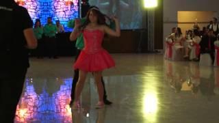 TEX ELEGANT ACADEMY / XV´s Valeria Exhibición con Eleazar / 9Abr16 / en Marin