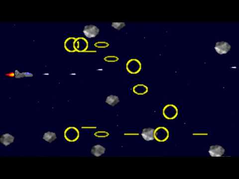 Meteor Storm (Johan Peitz) (MS-DOS) [1997]