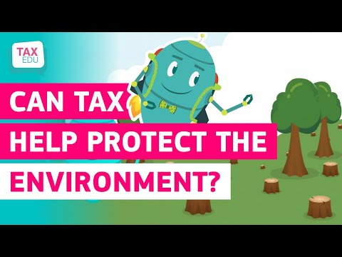 Can tax help protect the environment? photo