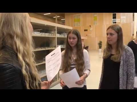 Kungälv - Stort intresse för Naturvetenskap på Mimers Hus Gymnasium
