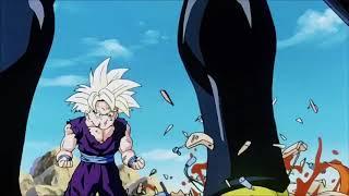 Gohan Goes Super Saiyan 2 (Clash of the gods theme)