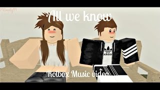 All we know - Chainsmokers II Roblox music video