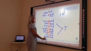 Pronuncia dei verbi inglesi al passato