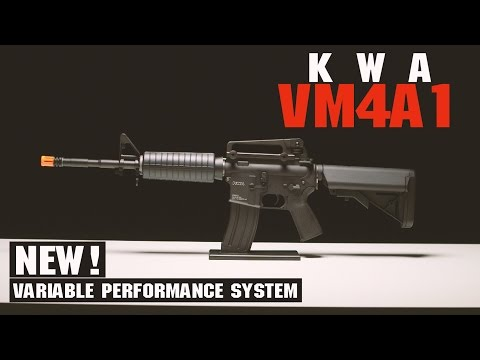 KWA VM4A1 Airsoft Gun Overview | Variable Performance System & More! | AIRSOFTGI.COM