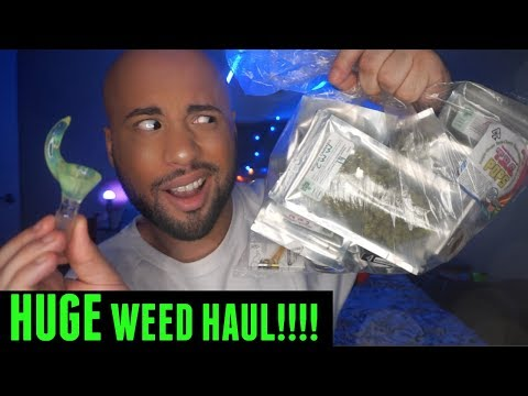 HUGE WEED HAUL