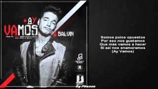 J Balvin Ay Vamos Ft Nicky Jam (Official Video) Remix Letra