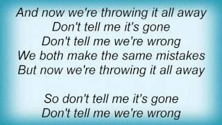 Mesh - It's Gone Lyrics