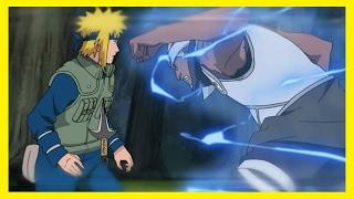 Minato vs Fourth Raikage - Full Fight