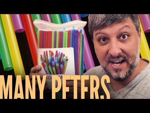 Plastic Straws | Many Peters³⁶