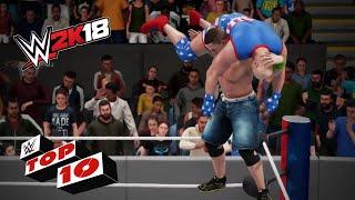 WWE 2K18: Los 10 mejores super movimientos de la historia
