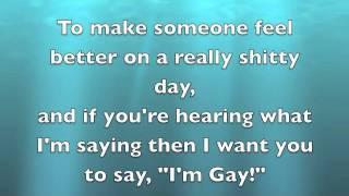 I'm Gay - Bowling for Soup (Lyrics)