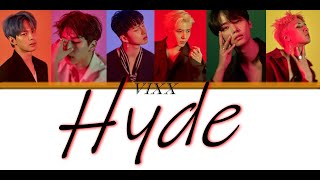 VIXX - HYDE Lyrics (Colour Coded)
