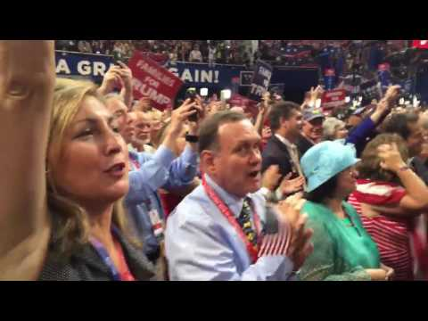NM delegation cheers GOP nominee Donald Trump