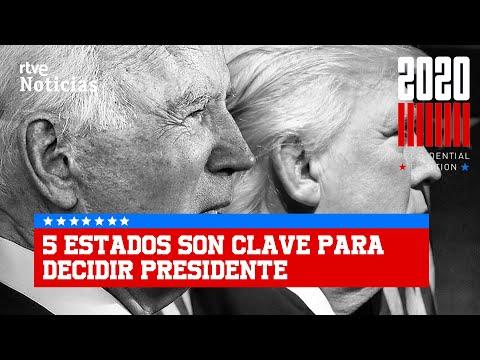 BIDEN a 17 votos electorales de la CASA BLANCA   RTVE Noticias