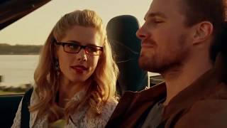 "[Arrow] Oliver & Felicity (OLICITY) ""Sunday Morning - Emily Bett ft. Travis Atreo Cover"""