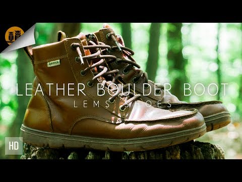 Lems Leather Boulder Boots ◦ Barefoot Boots