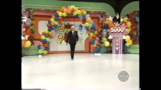 The Price Is Right:  April 9, 1998  (5,000TH SHOW!!!!)