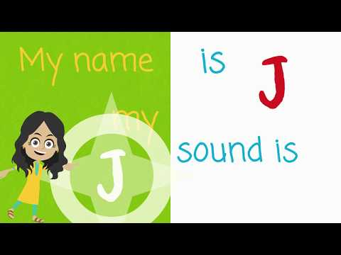 The Letter J Phonics Song