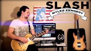 'Avalon' by Slash Ft. Myles Kennedy & Conspirators - Instrumental Cover