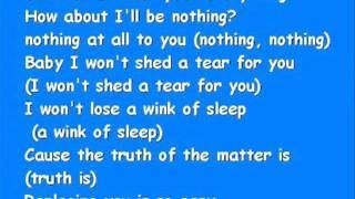 Beyonce-Irreplaceable lyrics