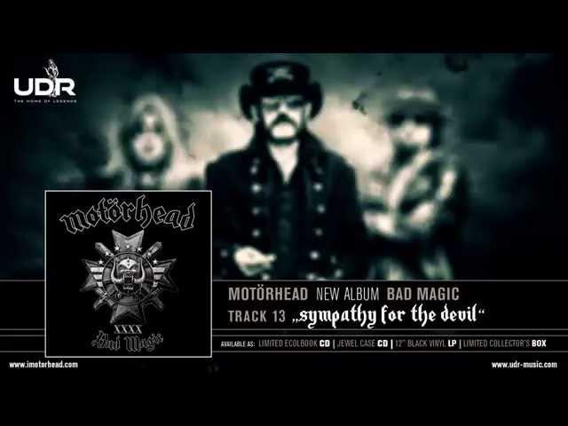 Vídeo de la versión de la canción Sympathy For The Devil de Motörhead