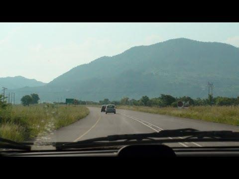 Driving to Pilansberg National Park