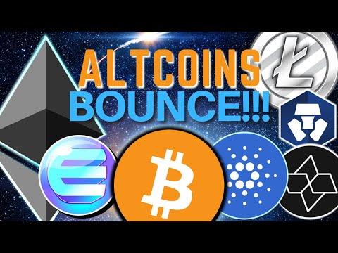 Altcoins BOUNCE | Bitcoin, Ethereum, Reserve, Cartesi, PAID, Poolz Finance, Crypto.com and MARK 🔥