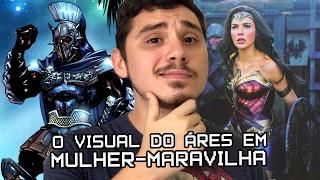 MULHER-MARAVILHA: REVELADO VISUAL DE ARES NO FILME | Nerd News Drops #16