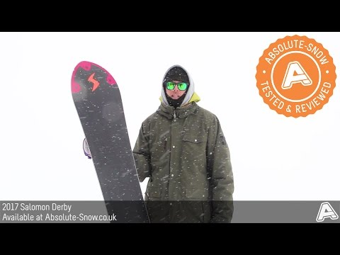 2016 / 2017 | Salomon Derby Snowboard | Video Review
