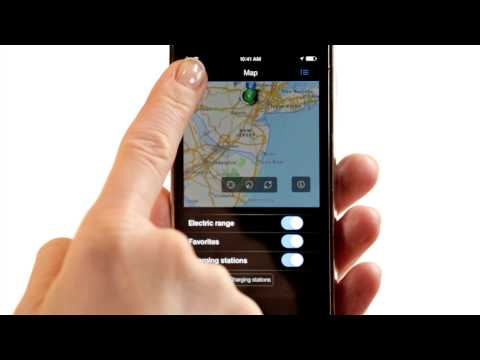 BMW iRemote App: Mobility Screen Overview